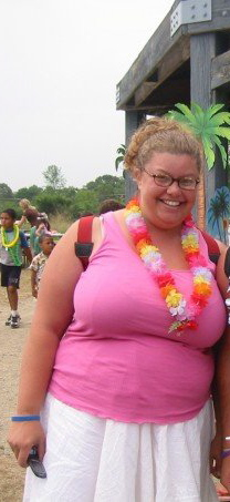 Hawaiian Day at camp, 2005