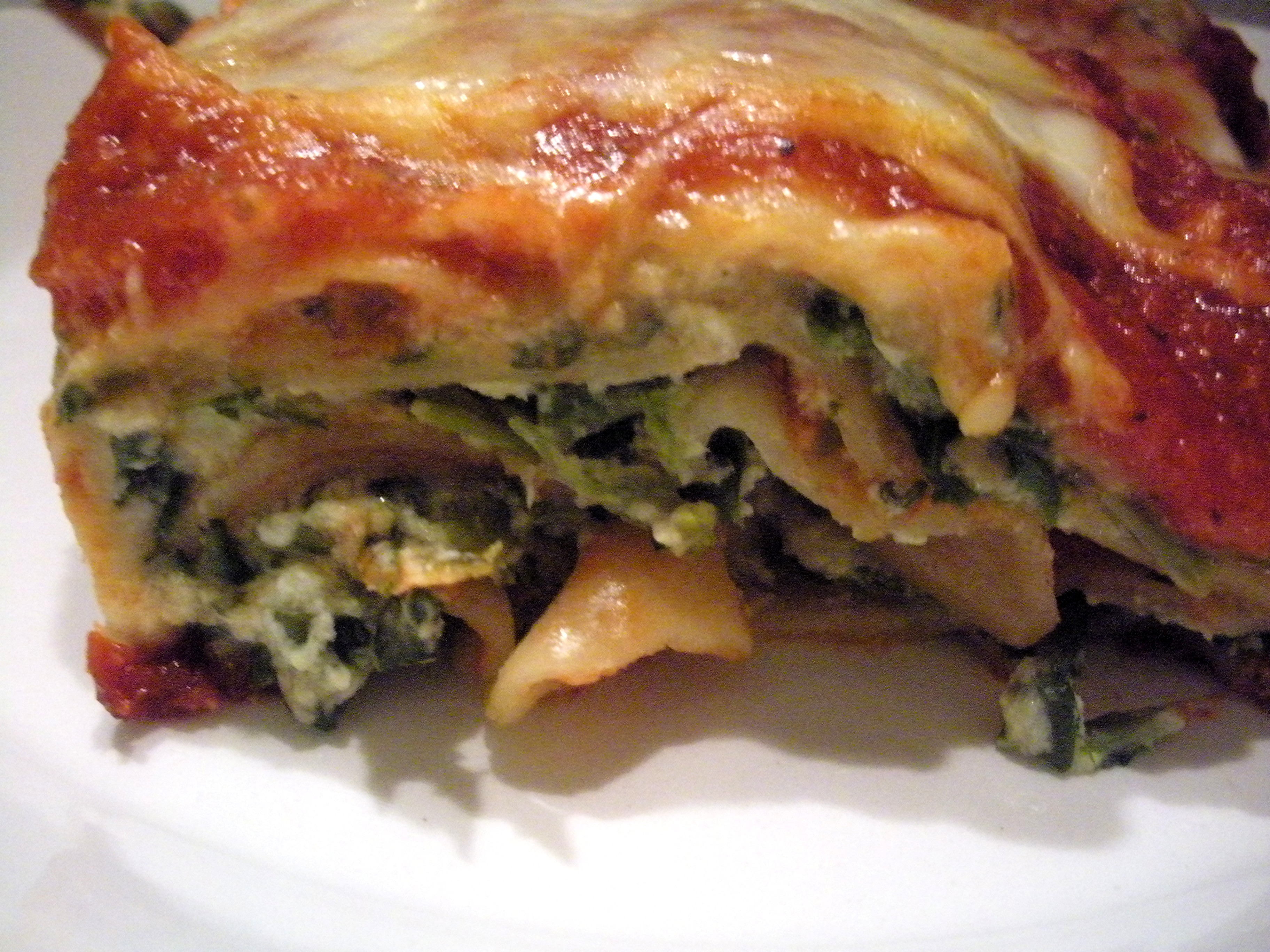 Layers and Layers: Spinach Lasagna | | recipes and cooking